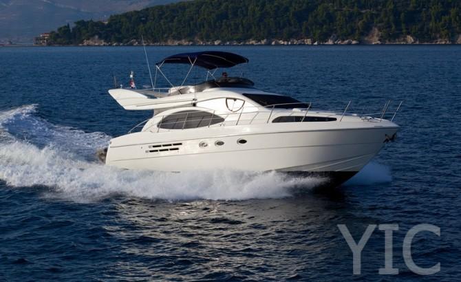 azimut 46 motor yacht in croatia charter on yachtsincroatia