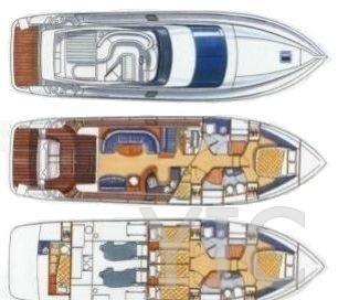 azimut 52 charter croatia (2)