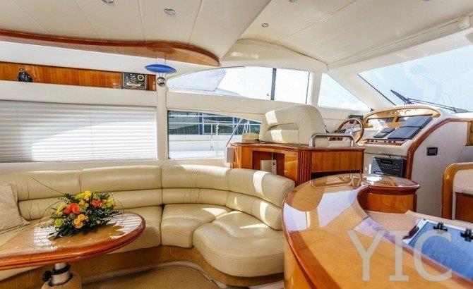azimut 55 motor yacht in croatia charter on yachtsincroatia