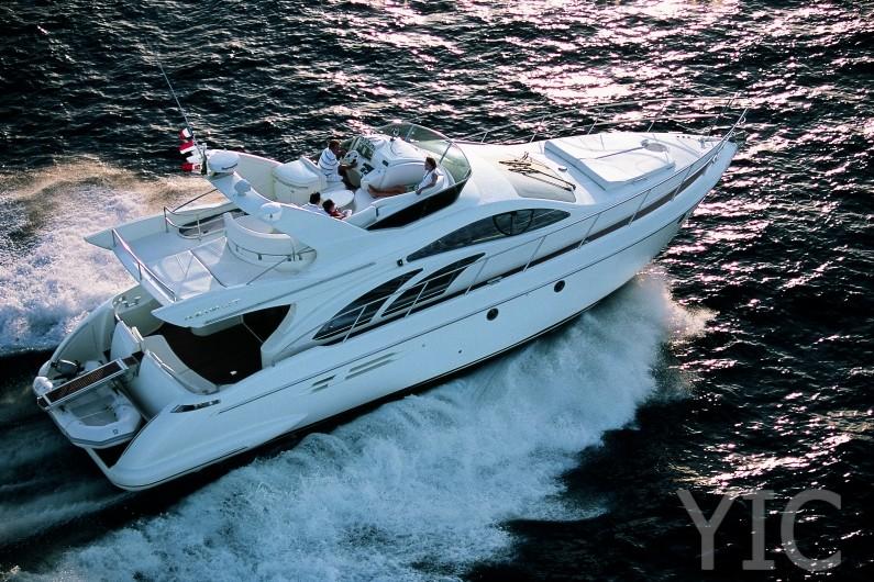 azimut yachts 50 running3