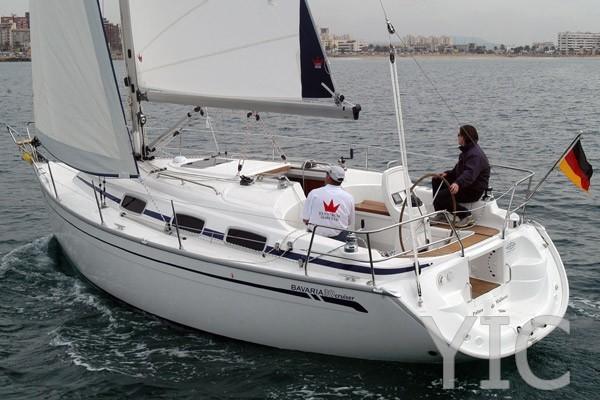 bavaria 30 sailing yacht in croatia charter on yachtsincroatia