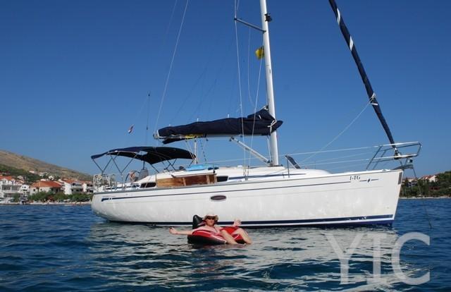 bavaria 33 sailing yacht in croatia charter on yachtsincroatia
