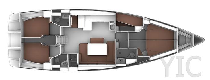 bavaria 51 layout