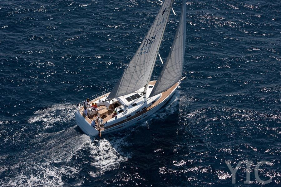 bavaria cruiser 45 yacht in croatia split charter
