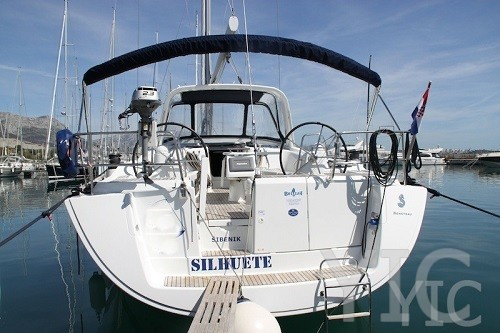 beneteau 50   sailing yacht in croatia charter on yachtsincroatia