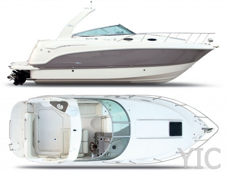 chaparral 280 motor yacht in croatia charter on yachtsincroatia