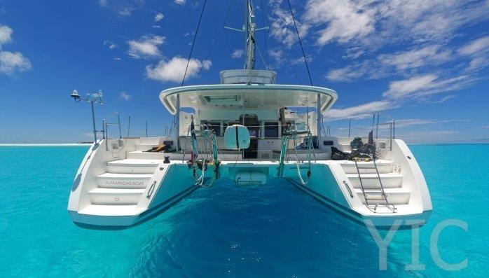 charter catamaran in croatia