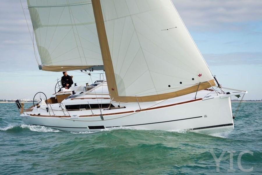 dufour 360 yachts in croatia charter