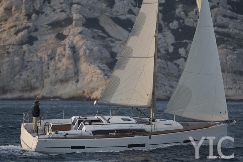 dufour 410 gl sailing yacht in croatia charter on yachtsincroatia