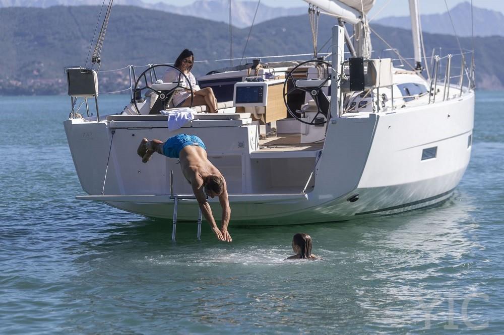 dufour 430 yachts in croatia dalmatia