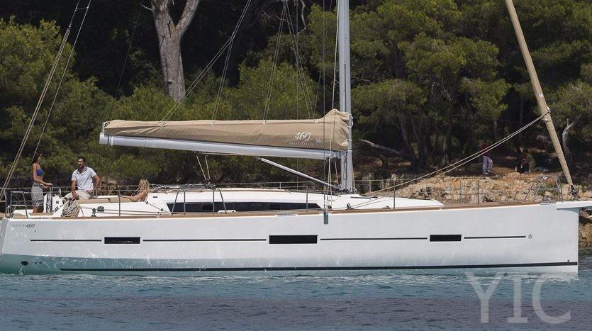 dufour 460 yachts in croatia seget donji