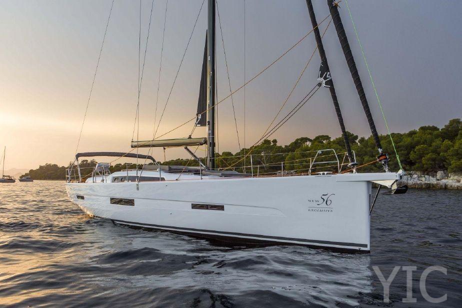dufour 56 yachts in croatia charter