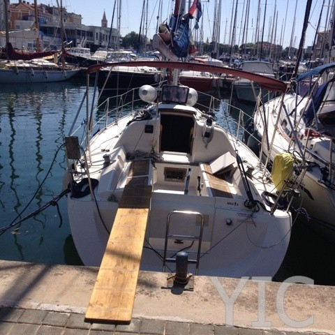 elan 295 sailing yacht in croatia charter on yachtsincroatia