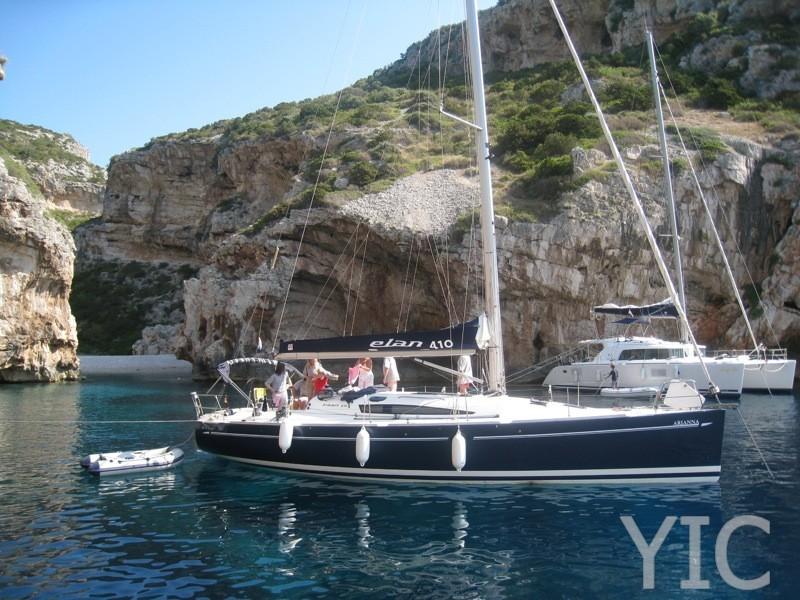 elan 410   sailing yacht in croatia   charter on yachtsincroatia