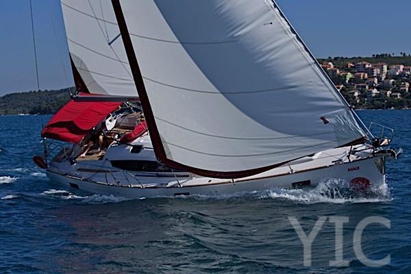 elan 45, sailing yacht charter