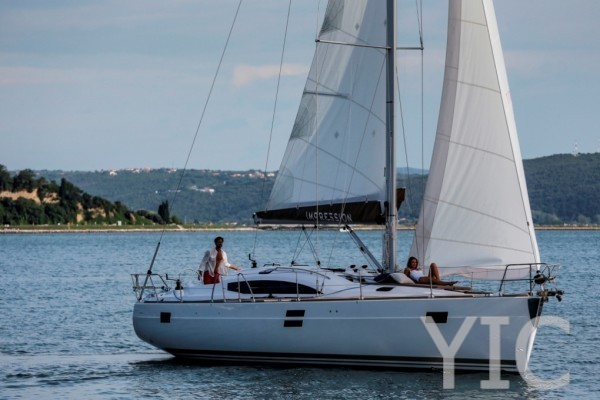 elan 45 impression   sailing yacht in croatia   charter on yachtsincroatia