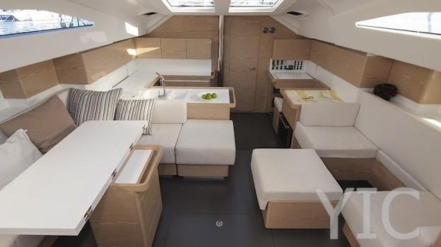 elan 494 sailing yacht in croatia charter on yachtsincroatia