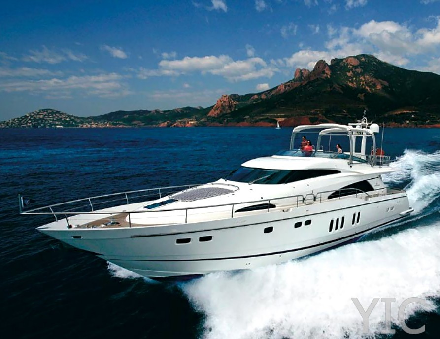 fairline squadron 74 luxury yacht in croatia charter on yachtsincroatia