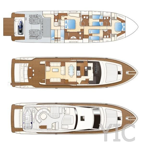 ferretti 780 luxury yacht in croatia charter on yachtsincroatia