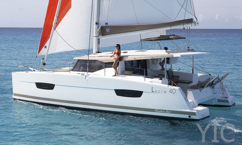 fountaine pajot lucia 40 yachts in croatia charter