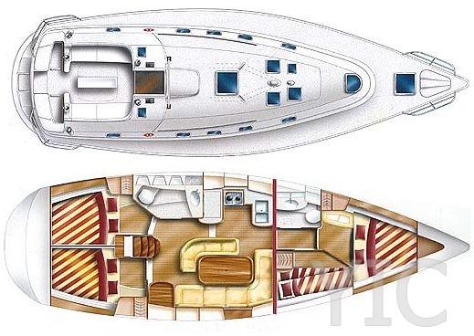 gib sea 43 sailing yacht in croatia charter on yachtsincroatia
