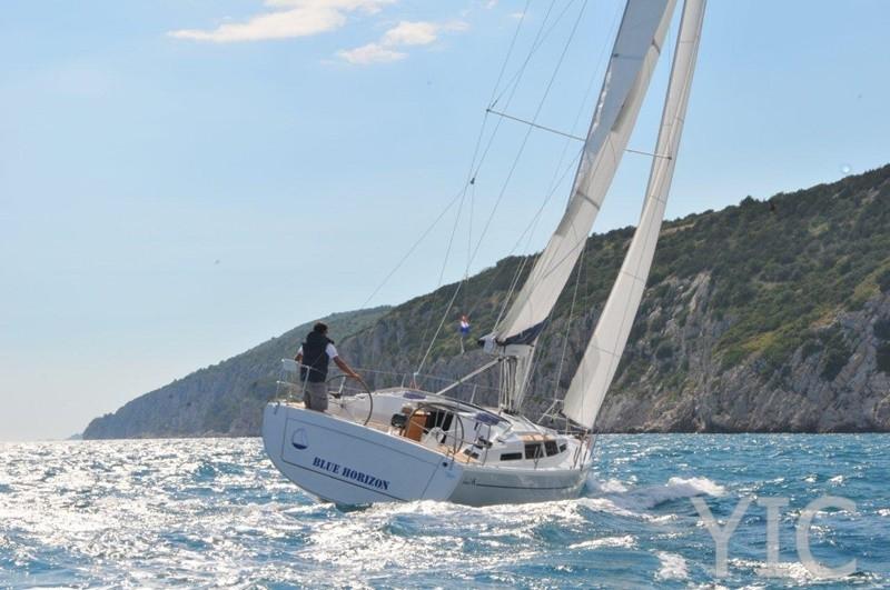 hanse 345   sailing yacht in croatia   charter on yachtsincroatia