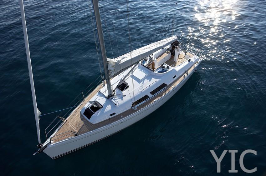 hanse 370 sailing yacht in croatia charter on yachtsincroatia