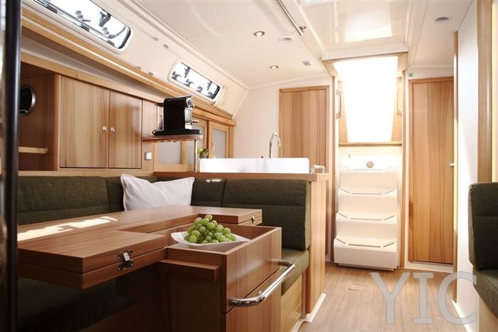 hanse 400   sailing yacht in croatia   charter on yachtsincroatia