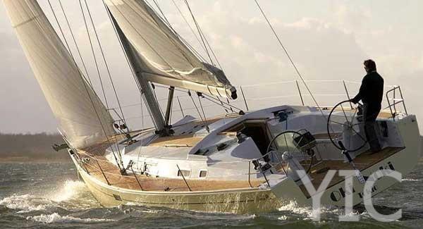 hanse 430 sailing yacht in croatia charter on yachtsincroatia