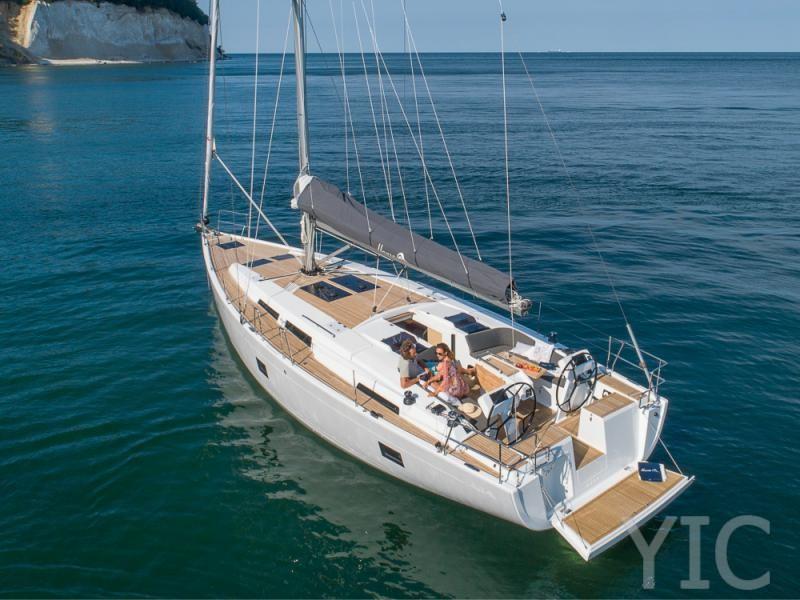 hanse 458 yachts in croatia charter in dalmatia sibenik