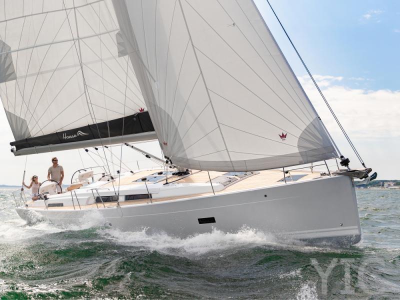 hanse 458 yachts in croatia charter