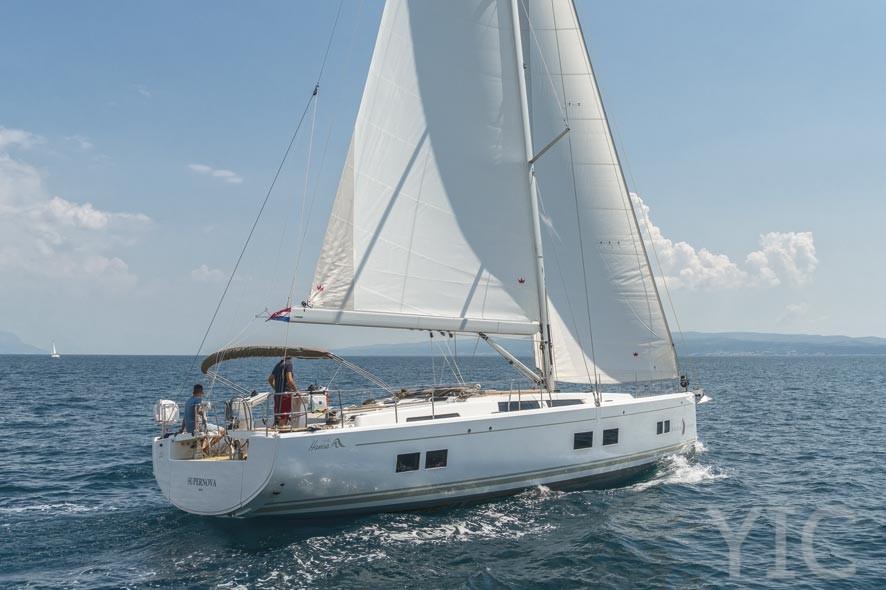 hanse 548 yachts in croatia charter