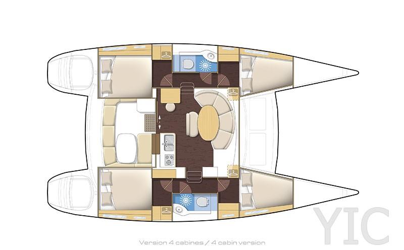 lagoon 380   rent a catamaran