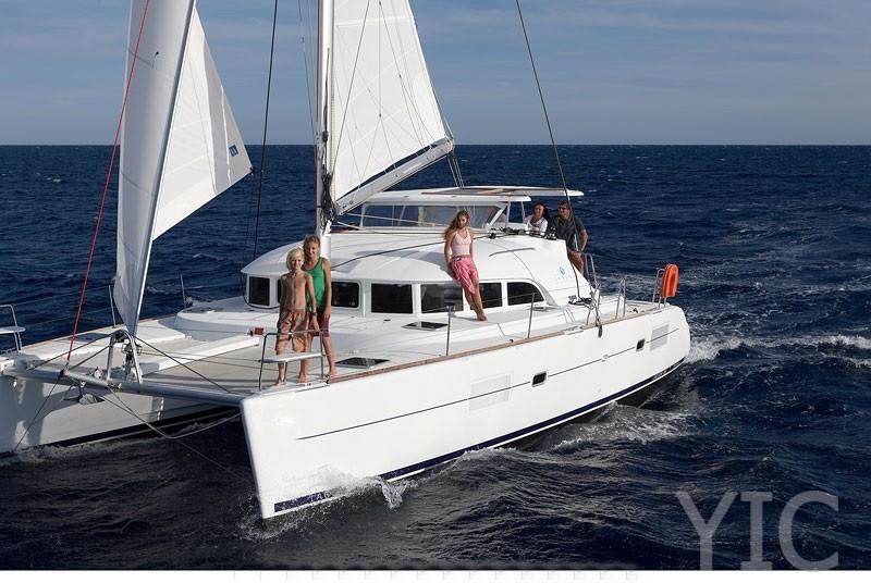 lagoon 380 catamaran hire