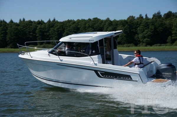 merry fisher 695 motor yacht in croatia charter on yachtsincroatia