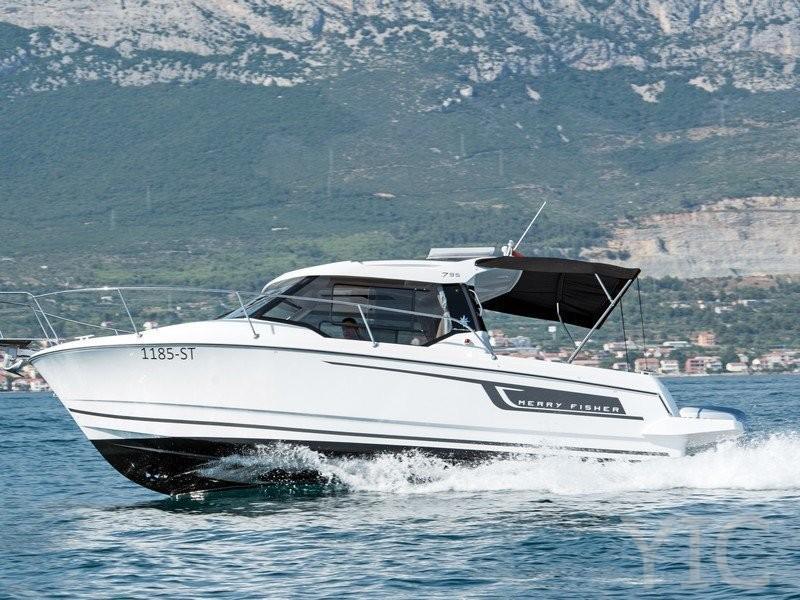 merry fisher 795 yachts in croatia charter dalmatia