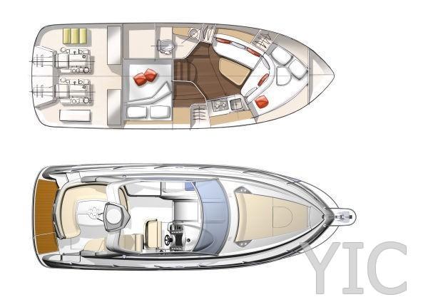 monte carlo 32 motor yacht in croatia charter on yachtsincroatia
