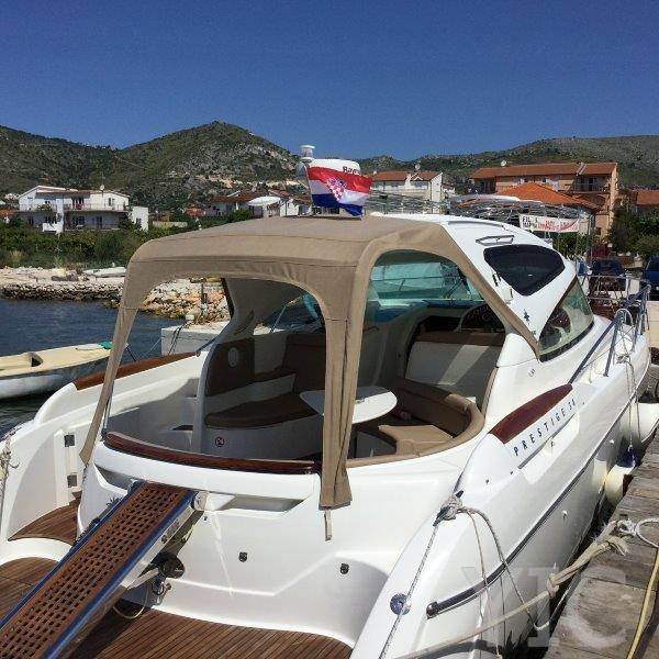 motor boat in trogir