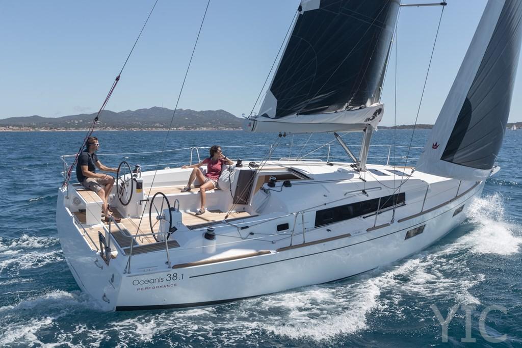 oceanis 38 sailing yacht charter anima maris