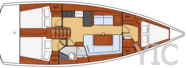 oceanis 41 sailing yacht in croatia charter on yachtsincroatia