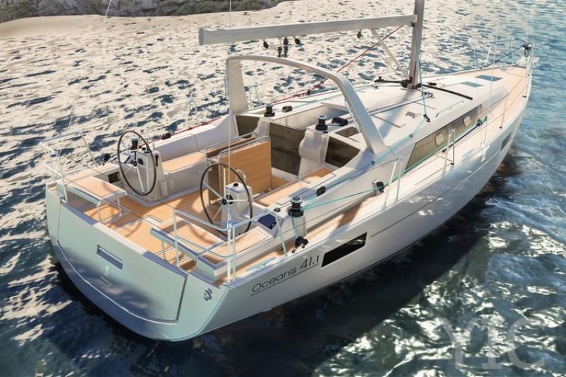 oceanis 41 yachts in croatia charter dalmatia