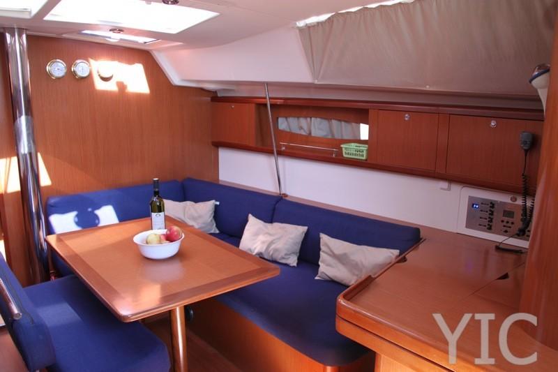 oceanis 46  sailing yacht in croatia   charter on yachtsincroatia