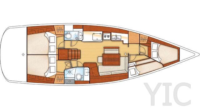 oceanis 46 layout