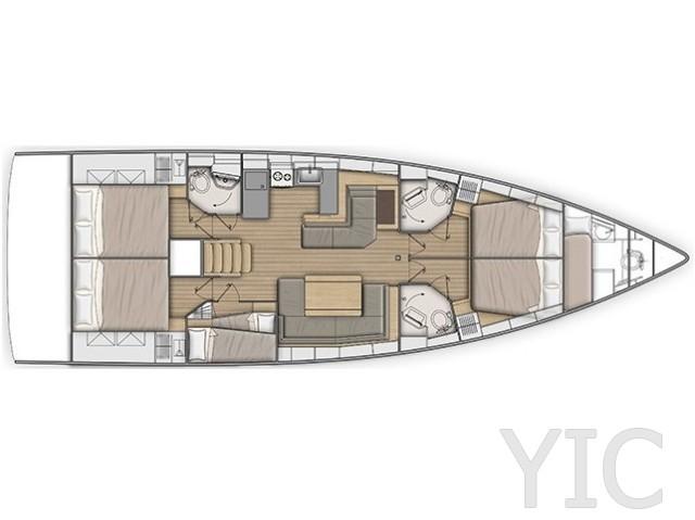 oceanis 511 layout
