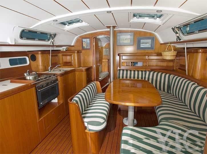 oceanis clipper 411 sailing yacht in croatia charter on yachtsincroatia