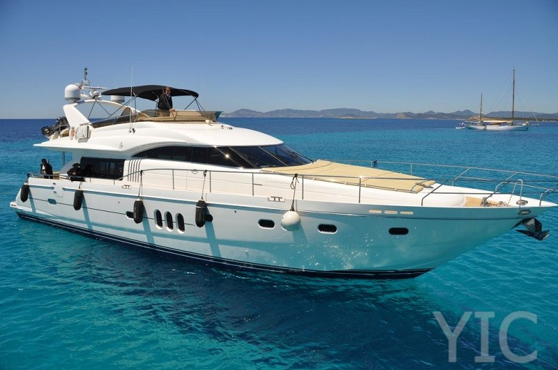 princess 23m luxury yacht in croatia charter on  yachtsincroatia
