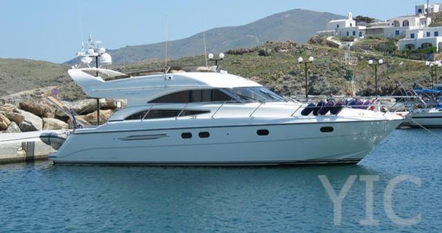 princess 52 fly motor yacht in croatia charter on yachtsincroatia