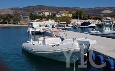ragusa 750 charter in split