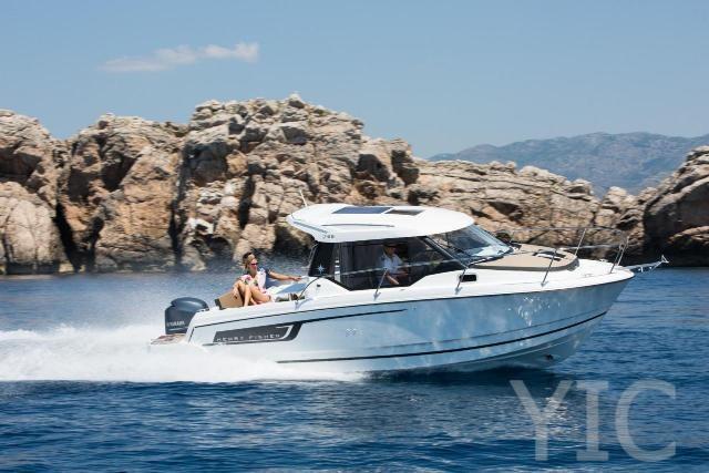 rent a boat biograd merry fisher 795