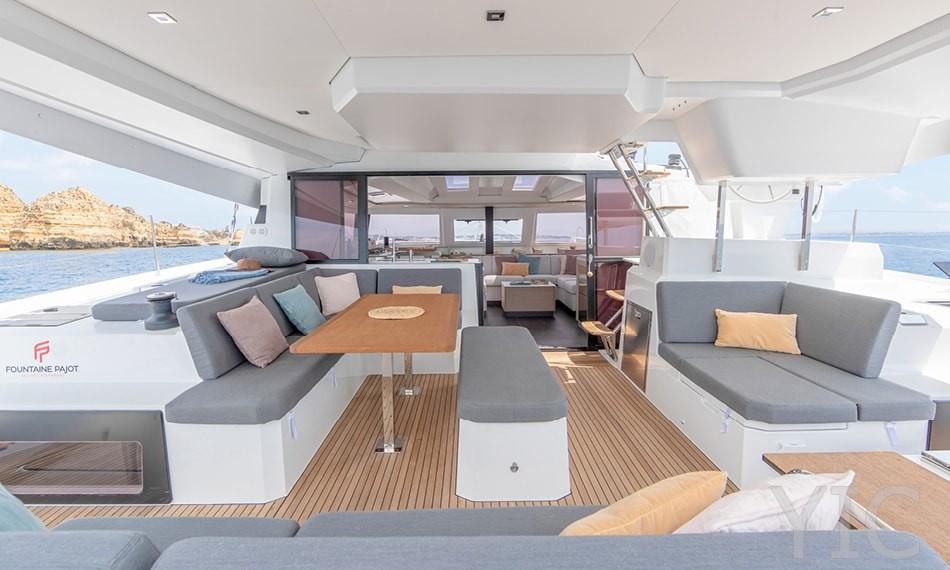 rent a catamaran fountaine pajot elba 45 primoŠten croatia dalmatia 2021